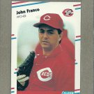 1988 Fleer Baseball John Franco Reds #234