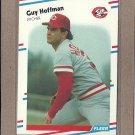 1988 Fleer Baseball Guy Hoffman Reds #235