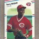 1988 Fleer Baseball Terry McGriff Reds #240
