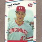 1988 Fleer Baseball Frank Williams Reds #250