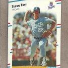 1988 Fleer Baseball Steve Farr Royals #256