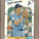 1988 Fleer Baseball Charlie Leibrandt Royals #263