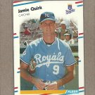 1988 Fleer Baseball Jamie Quirk Royals #266