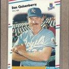 1988 Fleer Baseball Dan Quisenberry Royals #267