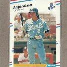 1988 Fleer Baseball Angel Salazar Royals #269