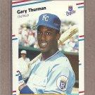 1988 Fleer Baseball Gary Thurman Royals #272