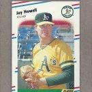 1988 Fleer Baseball Jay Howell A's #282