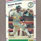 1988 Fleer Baseball Dwayne Murphy A's #287