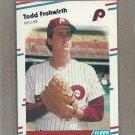 1988 Fleer Baseball Todd Frohwirth Phillies #301
