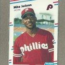 1988 Fleer Baseball Mike Jackson RC Phillies #306