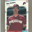 1988 Fleer Baseball Mike Maddux Phillies #309