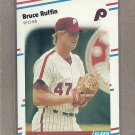 1988 Fleer Baseball Bruce Ruffin Phillies #313