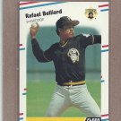 1988 Fleer Baseball Rafael Belliard Pirates #321