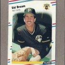 1988 Fleer Baseball Sid Bream Pirates #324