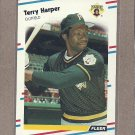 1988 Fleer Baseball Terry Harper Pirates #331