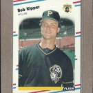 1988 Fleer Baseball Bob Kipper Pirates #332