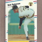1988 Fleer Baseball Bob Patterson Pirates #337