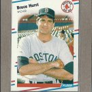 1988 Fleer Baseball Bruce Hurst Red Sox #356
