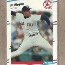 1988 Fleer Baseball Al Nipper Red Sox #358