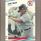 1988 Fleer Baseball Jody Reed RC Red Sox #360