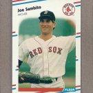 1988 Fleer Baseball Joe Sambito Red Sox #364