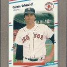 1988 Fleer Baseball Calvin Schiraldi Red Sox #365