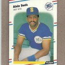 1988 Fleer Baseball Alvin Davis Mariners #373