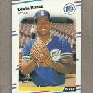 1988 Fleer Baseball Edwin Nunez Mariners #383