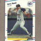 1988 Fleer Baseball Jerry Reed Mariners #387