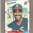 1988 Fleer Baseball Daryl Boston White Sox #393