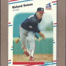 1988 Fleer Baseball Richard Dotson White Sox #396