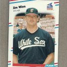 1988 Fleer Baseball Jim Winn White Sox #413