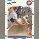 1988 Fleer Baseball Jody Davis Cubs #414