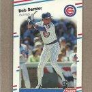 1988 Fleer Baseball Bob Dernier Cubs #417