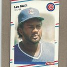 1988 Fleer Baseball Lee Smith Cubs #433