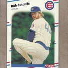 1988 Fleer Baseball Rick Sutcliffe Cubs #435