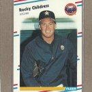 1988 Fleer Baseball Rocky Childress Astros #442