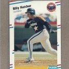 1988 Fleer Baseball Billy Hatcher Astros #449