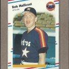 1988 Fleer Baseball Rob Mallicoat Astros #452