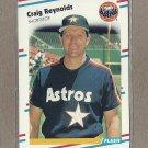 1988 Fleer Baseball Craig Reynolds Astros #454