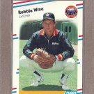 1988 Fleer Baseball Robbie Wine Astros #459