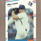 1988 Fleer Baseball Mike Loynd Rangers #472
