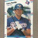 1988 Fleer Baseball Larry Parrish Rangers #476