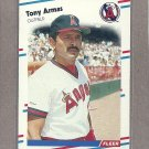 1988 Fleer Baseball Tony Armas Angels #484