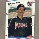 1988 Fleer Baseball DeWayne Buice Angels #487