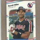 1988 Fleer Baseball Darrell Miller Angels #498