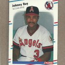 1988 Fleer Baseball Johnny Ray Angels #502