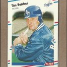 1988 Fleer Baseball Tim Belcher Dodgers #509