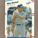 1988 Fleer Baseball Mike Marshall Dodgers #522