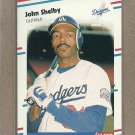 1988 Fleer Baseball John Shelby Dodgers #526